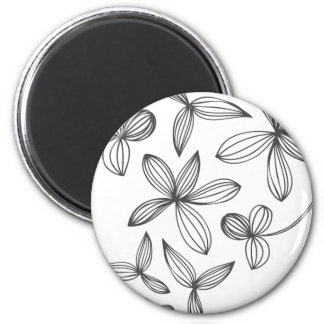 Delicate Flowers Magnet