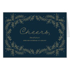 Delicate Foliage Corporate Holiday Card