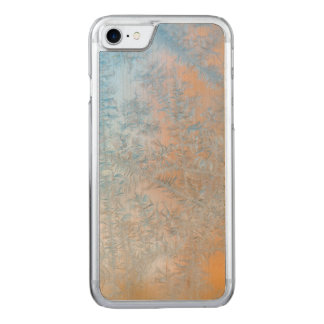 Delicate frost pattern, Wisconsin Carved iPhone 8/7 Case