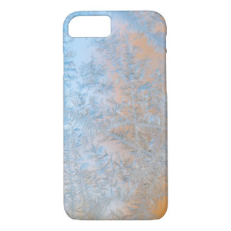 Delicate frost pattern, Wisconsin iPhone 7 Case