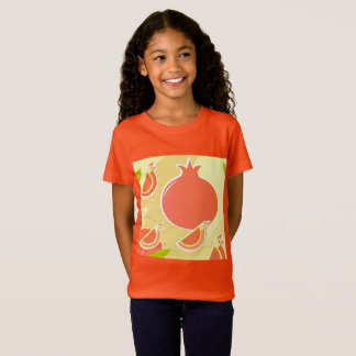 DELICATE GIRLS T-SHIRT : Pomegranate Orange