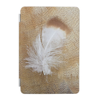 Delicate Goose Feathers iPad Mini Cover
