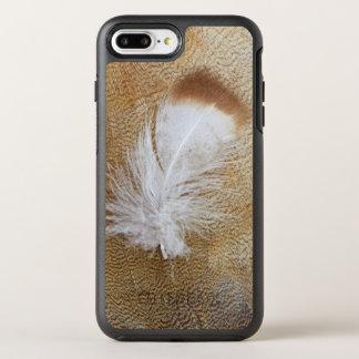 Delicate Goose Feathers OtterBox Symmetry iPhone 8 Plus/7 Plus Case
