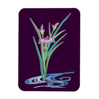Delicate Iris Flexible Magnets