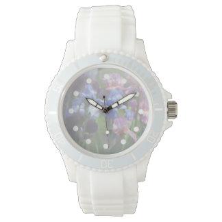 Delicate Irises Women's Watch
