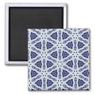 Delicate Lace Fabric Pattern Collection Lace - 01 Magnet