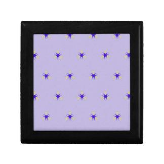 Delicate  lavender Purple Burst Pattern Gift Box