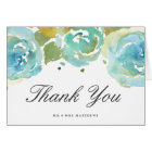 Delicate Love Wedding Thank You Note Card