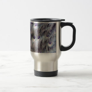 Delicate Old Gray Travel Mug