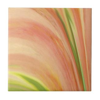 Delicate Peach Ceramic Tile