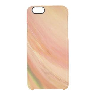 Delicate Peach Clear iPhone 6/6S Case
