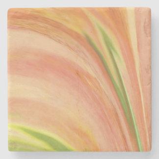 Delicate Peach Stone Coaster