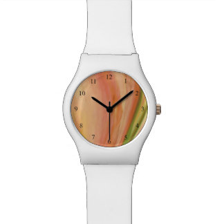 Delicate Peach Watch