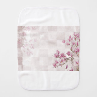 Delicate Pink Baby Girl  Clothing Burp Cloth