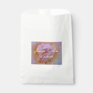 Delicate Pink Favour Bag