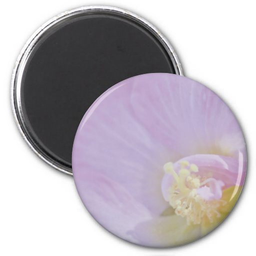 Delicate Pink Lavender Flower Fridge Magnet