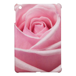 Delicate Pink Rose Petals Floral Design Cover For The iPad Mini
