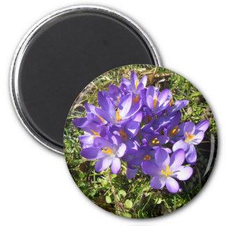 Delicate Purple Flowers CricketDiane Florals Refrigerator Magnet