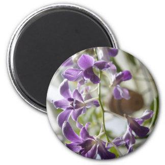 Delicate Purple Fridge Magnets