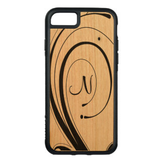 Delicate Scrolled Initialized Phone Case