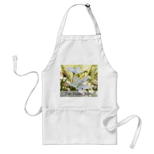 Delicate Spring Beauty Flowers Aprons
