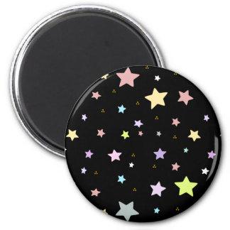 Delicate Star pattern magnet
