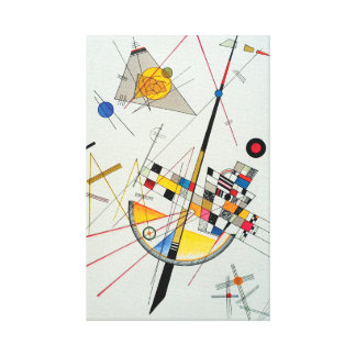 Delicate Tension by Wassily Kandinsky Canvas Print