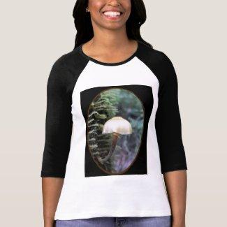 Delicate tree hugger fungi shirts