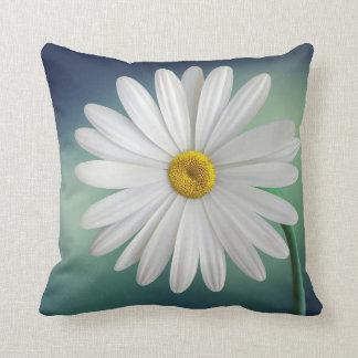 Delicate White Daisy Pillows