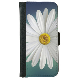 Delicate White Daisy iPhone 6 Wallet Case