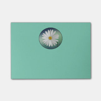 Delicate White Daisy Post-it® Notes