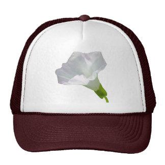Delicate White Wildflower. Hat