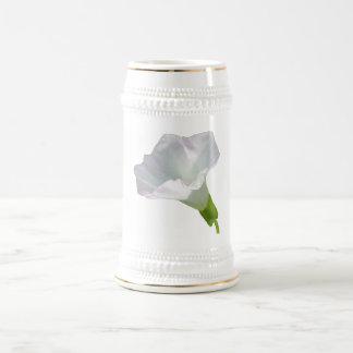 Delicate White Wildflower. Mugs