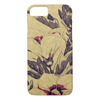 Delicated flower iPhone 7 case