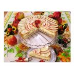Delicious Apple Pie Post Card
