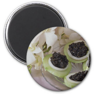 Delicious Caviar for food lovers Refrigerator Magnet
