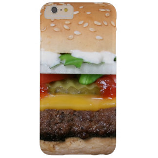 delicious cheeseburger with pickles photograph barely there iPhone 6 plus case