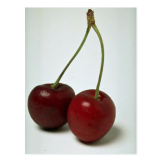 Delicious Cherries Postcard