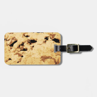 Delicious Chocolate Chip Cookie Tag For Luggage