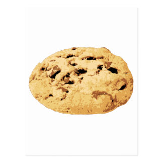 Delicious Chocolate Chip Cookie Postcard