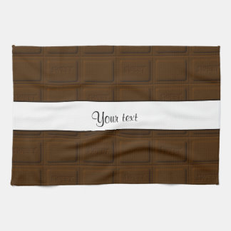 Delicious Chocolate Squares Kitchen Towels