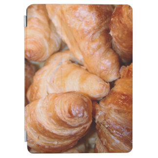 Delicious classic french croissants photograph iPad air cover