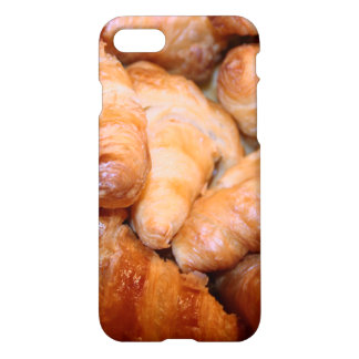 Delicious classic french croissants photograph iPhone 8/7 case