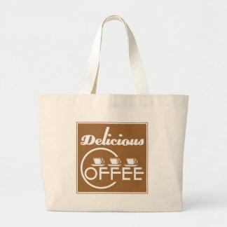 Delicious Coffee Tote Bag
