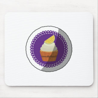 Delicious cup cake mouse pad