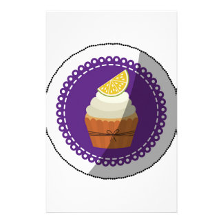 Delicious cup cake stationery