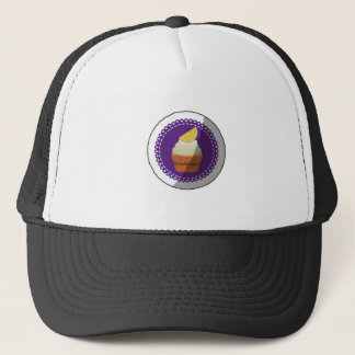 Delicious cup cake trucker hat