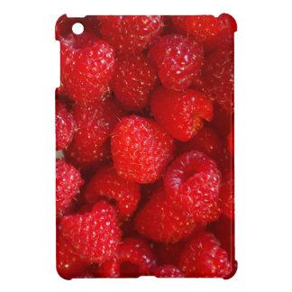 Delicious cute dark pink raspberry photograph iPad mini cover
