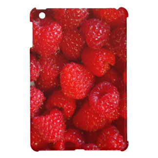 Delicious cute dark pink raspberry photograph iPad mini covers