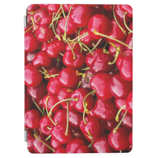 delicious cute red cherry fruits photograph iPad air cover